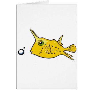 Longhorn Cowfish Card