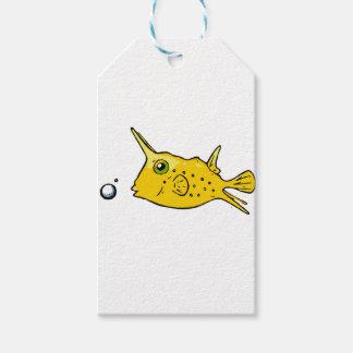 Longhorn Cowfish Gift Tags