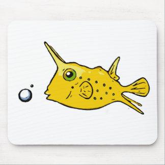 Longhorn Cowfish Mouse Pad
