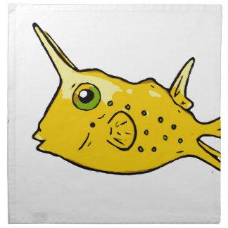 Longhorn Cowfish Napkin