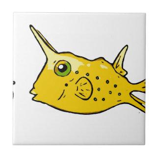 Longhorn Cowfish Tile