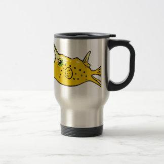 Longhorn Cowfish Travel Mug