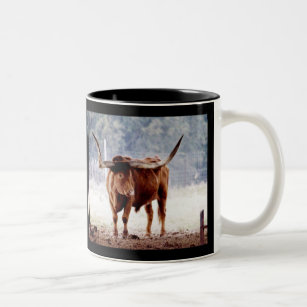 Longhorn Two-Tone Coffee Mug