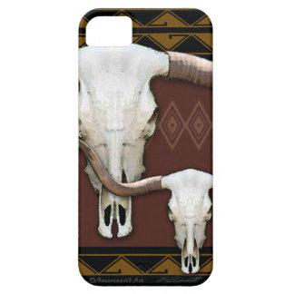 Longhorn Western Skull iPhone5 Universal Case