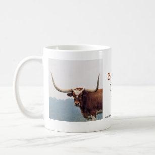 LonghornMug-customise Coffee Mug