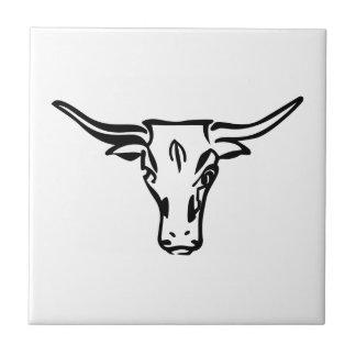 Longhorns Ceramic Tile