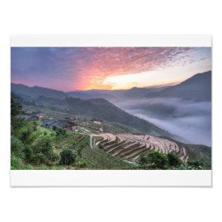 Longji dream photo print