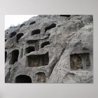 Longmen Grottoes Poster
