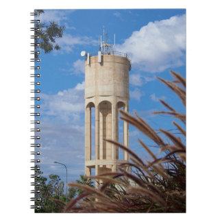 Longreach water tower notebook