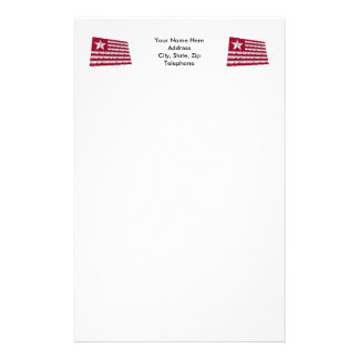 Long's Expedition Flag Stationery