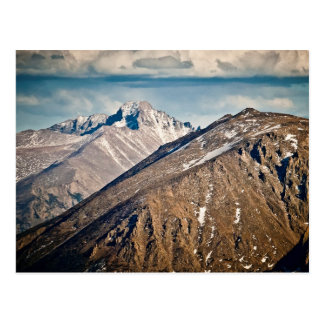 Longs Peak, Rocky Mountain National Park Postcard