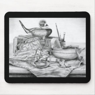 Longtail Decoy Still Life Mousepad (Lori Corbett)