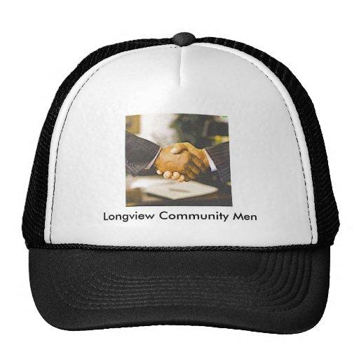Longview Community Men Hats