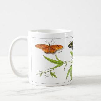 Longwing butterflies coffee mug