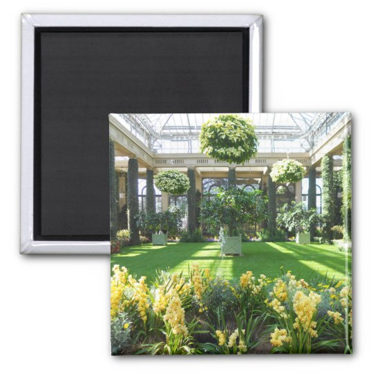 Longwood Gardens Conservatory Magnet