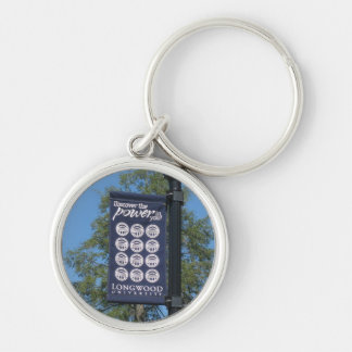 Longwood University keychain