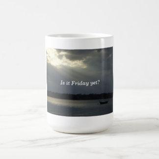 lonley boat, Is it Friday yet? mug