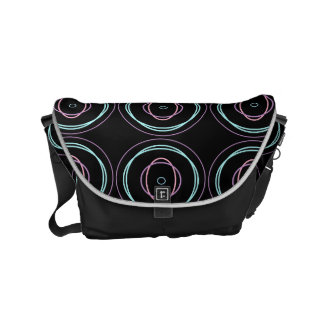 Look At Me Circles - Messenger bag