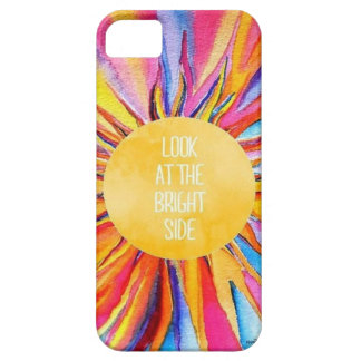 Look at the bright side case for the iPhone 5