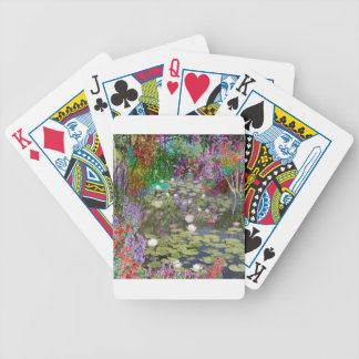 Look at this and you will find the peace bicycle playing cards