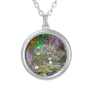Look at this and you will find the peace silver plated necklace