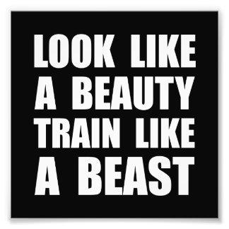 Look Beauty Train Like Beast Photo