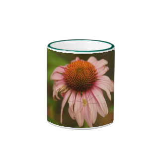 Look before you smell the flowers ringer mug