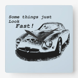 Look Fast Wall Clock