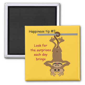 look for surprises square magnet