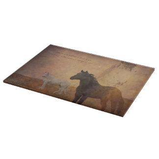 Look Forward Cutting Board Western Inspirational