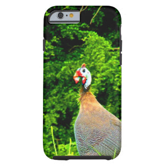 Look forward to love and joy guinea fowl guadeloup tough iPhone 6 case