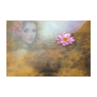 Look from under the water gallery wrapped canvas