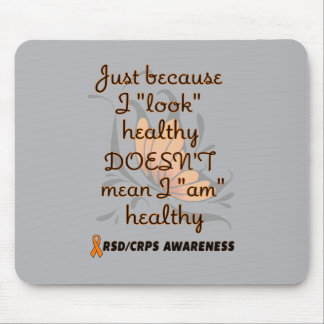 """""""Look"""" healthy/Butterfly...RSD/CRPS Mouse Pad"""