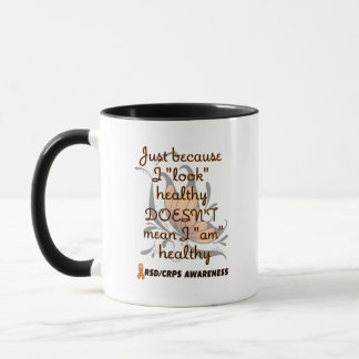 """Look"" healthy/Butterfly...RSD/CRPS Mug"