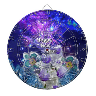 Look how amazing will be the New Year Dartboard