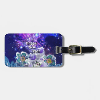 Look how amazing will be the New Year Luggage Tag