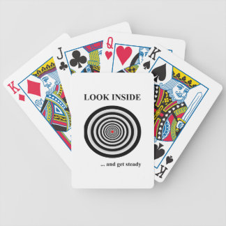LOOK INSIDE BICYCLE PLAYING CARDS