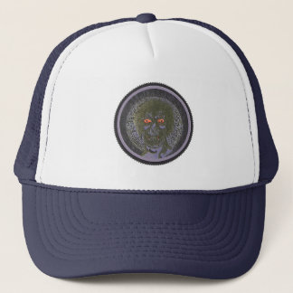 Look into my Eyes - Circle Trucker Hat