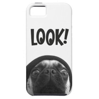 LOOK it's Lola the Pug Tough iPhone 5 Case