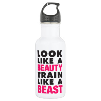 Look Like A Beauty Train Like A Beast 532 Ml Water Bottle