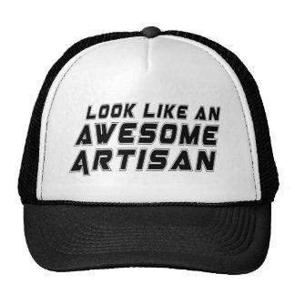 Look Like An Awesome Artisan Trucker Hat