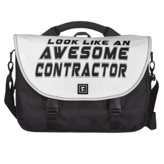 Look Like An Awesome Contractor Laptop Computer Bag