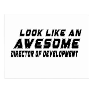 Look Like An Awesome Director of development Postcard