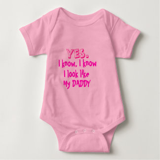 Look like my daddy for baby baby bodysuit