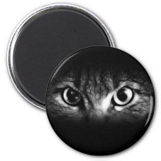 look 6 cm round magnet