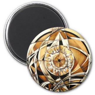 Look of zodiac magnet