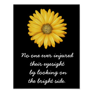 Look On Bright Side --- Art Print