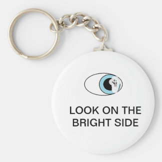 LOOK ON THE BRIGHT SIDE KEY CHAIN