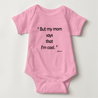 Look simple rose for drinks with funny sentence baby bodysuit