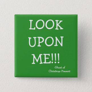 Look - The Scrooge Series 15 Cm Square Badge
